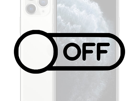 iPhone 11 Pro Tænd/sluk knap