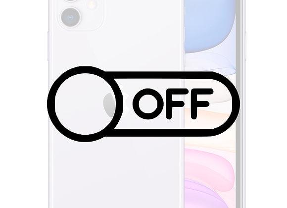 iPhone 11 Tænd/sluk knap