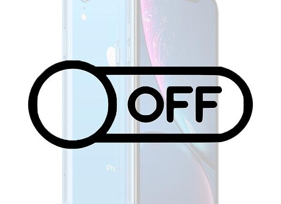 iPhone XR Tænd/sluk knap