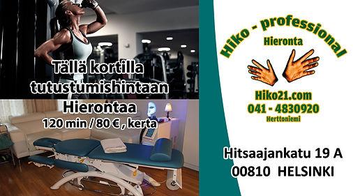 Hiko21.com - Tutustumiskäynti 120 min ja