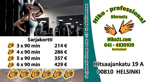 Hiko21.com - Sarjakortti - 90 min 8.3.20