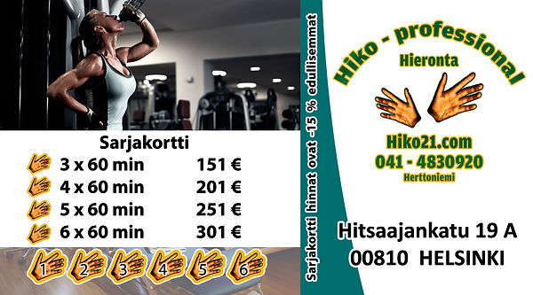Hiko21.com - Sarjakortti - 60 min 8.3.20