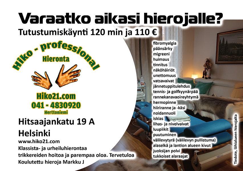 Hiko21.com Tutustumiskäynti lähialueen h