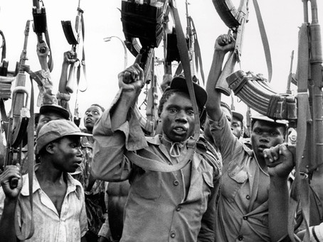 The Mozambique civil war