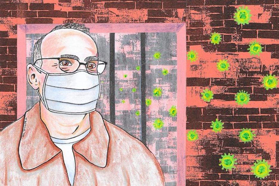 Art provided by Thomas Schilk, Prison Prophets co-host
