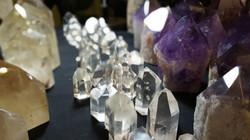 quartz and amethyst points sm