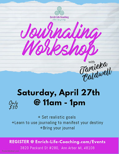 Tamieka Caldwell A2Journaling Workshop A