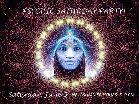Psychic Party June5-woman's face with bi