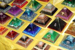 Audranite pyramids IMG_0333 sm