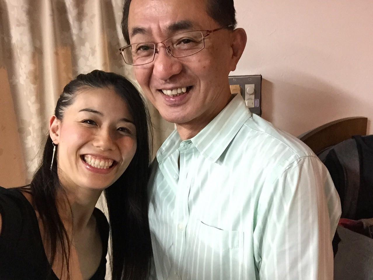スタジオオーナーの石井さんとSakurako先生
