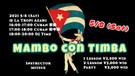 5/29 (Sat) Mambo con Timba @ La Tropi