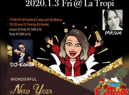 ● 1/3 (Fri) New Year Salsa