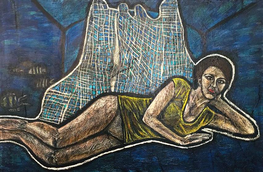 Grembo Materno 150 x 100 cm | 2017