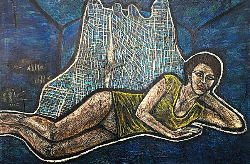 Grembo Materno 150 x 100 cm   2017
