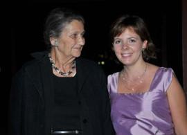 Eliane avec Simone Veil