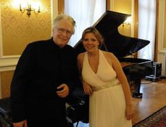 Eliane Reyes avec Jean Claude Vanden Eynden