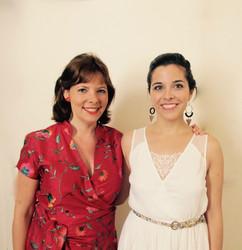 Eliane Reyes and Jodie Devos