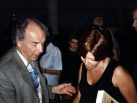 Eliane with Paul Badura Skoda