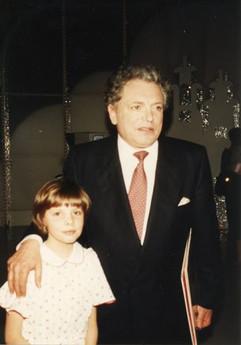 Eliane avec Jacques Martin