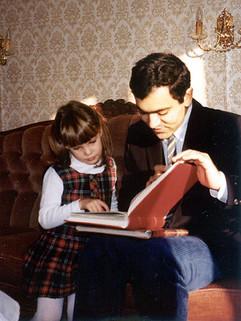 Eliane avec Abdel-Rahman El Bacha