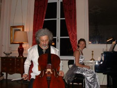In concert with Misha Maisky