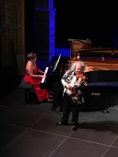 Eliane and Roby Lakatos in concert