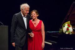 Eliane with Patrick Poivre d'Arvor