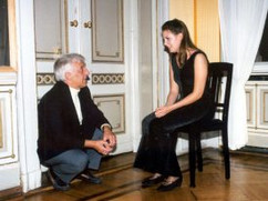 Eliane with Vladimir Ashkenazy