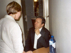 Conversing with Murray Perahia