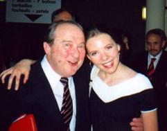 Eliane with Menahem Pressler