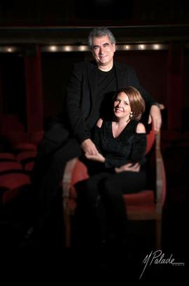 Eliane Reyes with Nicolas Bacri