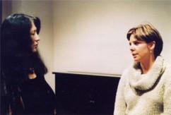Eliane with Martha Argerich