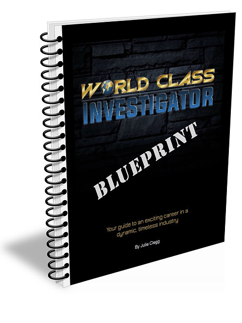 World Class Investigator Blueprint
