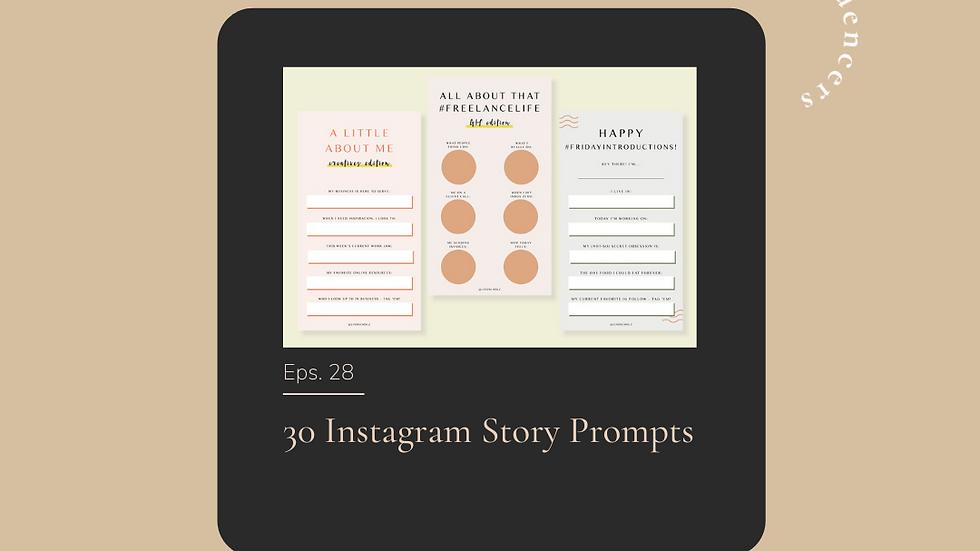30 Instagram Story Templates