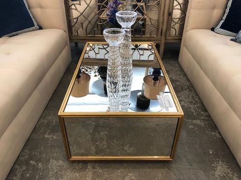 Gold Block Coffee Table Design Ideas