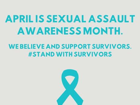 April: Sexual Assault Awareness Month