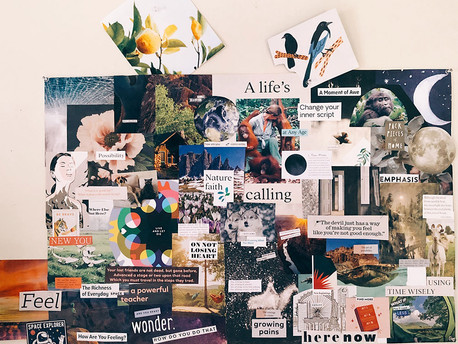 Creating a Vision Board for 2021