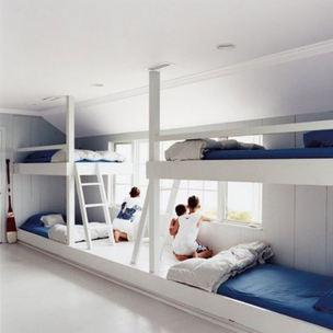 Aménagement dortoir