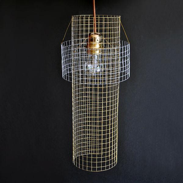 Luminaire GRIDpar Benjamin Rousse design