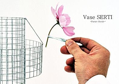 Vase serti  Presentation  par Benjamin R