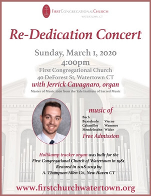 Organ Concert at First Church