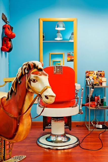 Peluqueria Barber Shop libro MadridInteriors livro transito inicial