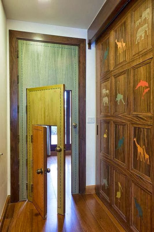 puerta_de_tres_tamaños_para_adultos_y_niños_portas_vintage_and_chic