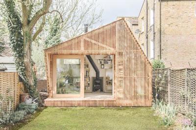 Uma cabana no jardim