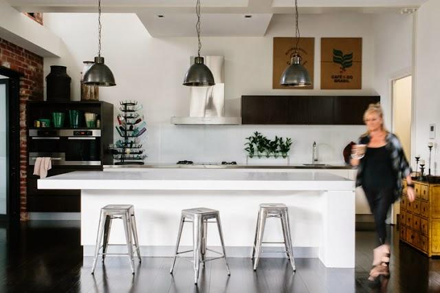 5 cocina industrial contemporanea decoratualma loft industrial