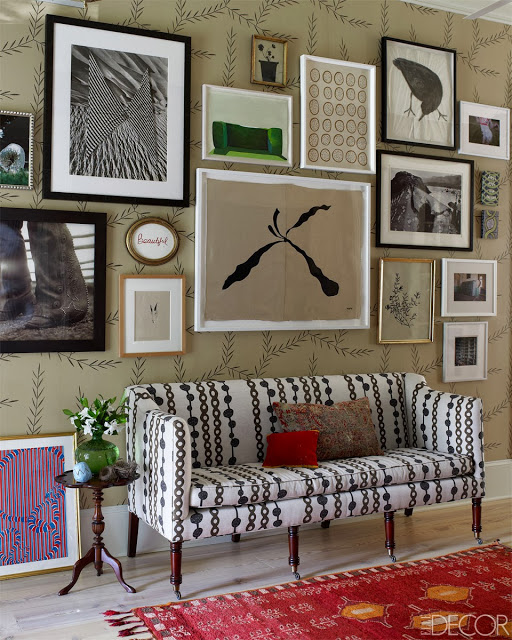 arranjos de parede vintage and