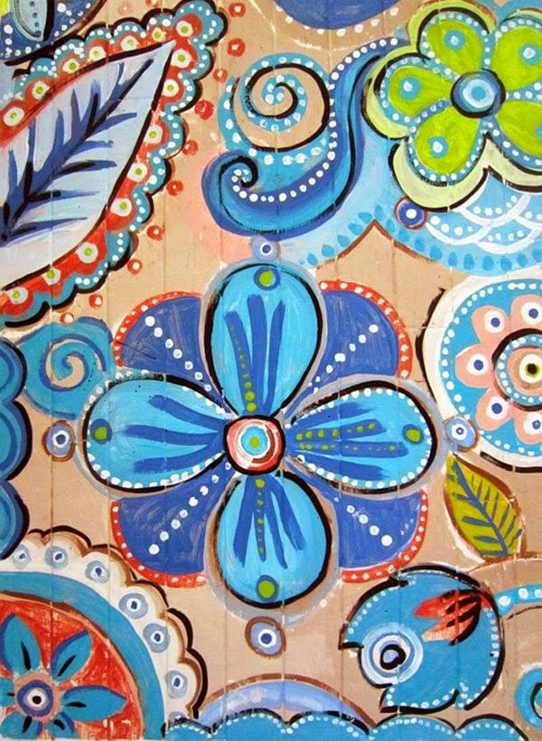 assoalho pintado vintage 3