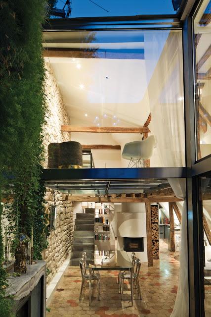 duplex casa paris suelos cristal vintage and