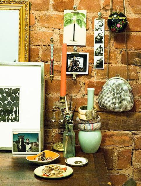 arranjos de parede - design sponge