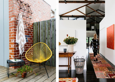 10 patio y pasillo decoratualma loft industrial